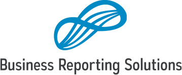 Business Reporting Solutions Retina Logo